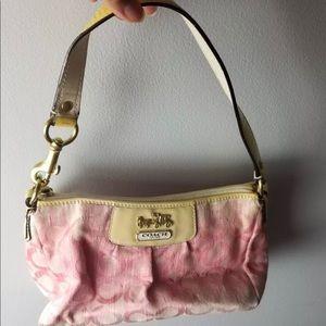 Coach bag signature c pink